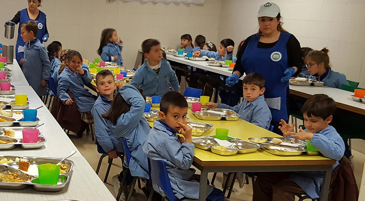 Comedor scala dei for Proyecto de comedor infantil